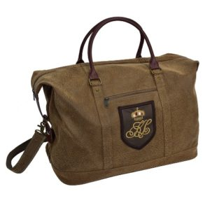 le weekendbag brun