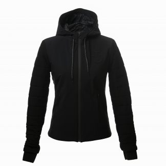 Cavalleria Toscana Stretch Jersey Hooded Sweater