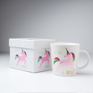 Unicorn Coffe Mug White