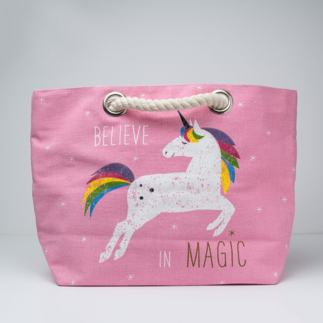 Unicorn Grooming Bag/Beach Bag