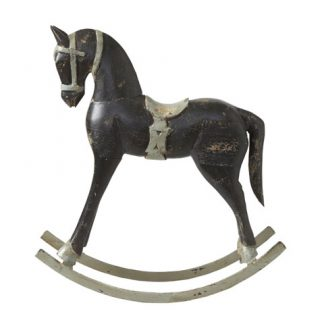 Troja Rocking Horse Black Medium