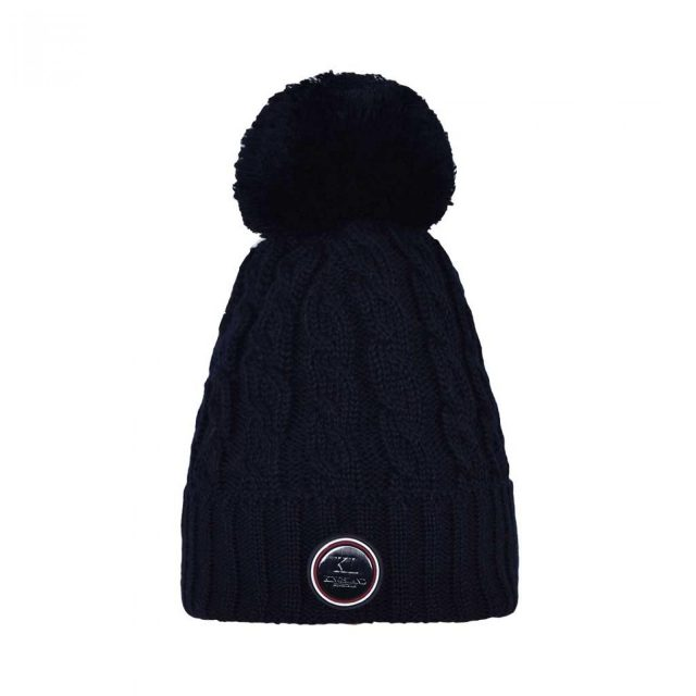 KLiroquois Knitted Hat NavyCable knitted hat with fleece lining.One size