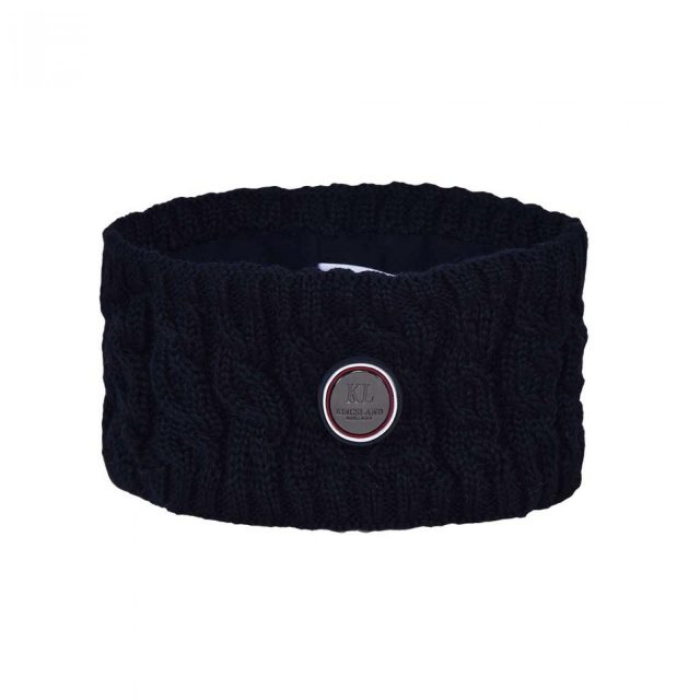 KLsaanich Knitted Head Band Navy