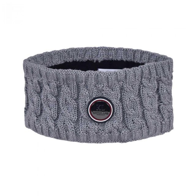 KLsaanich Knitted Head Band Grey