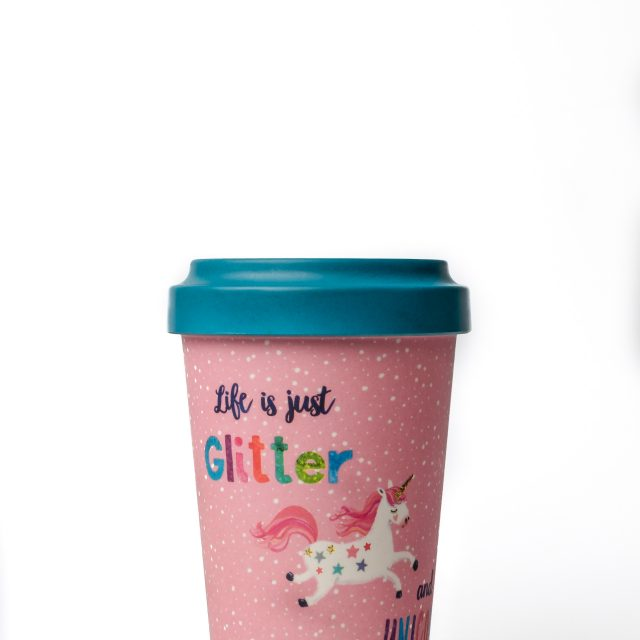 Unicorn Thermo Mug Glitter and Unicorn