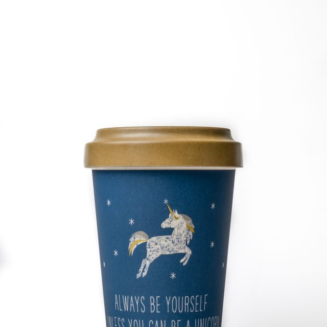 Unicorn Thermo Mug Navy