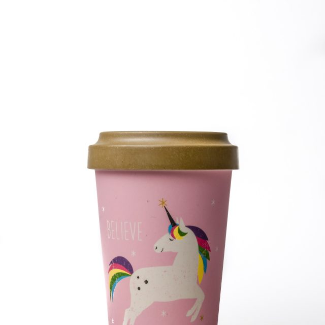 Unicorn Thermo Mug Pink