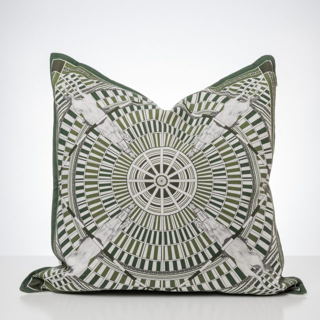 Palias de Paris Cushion Green