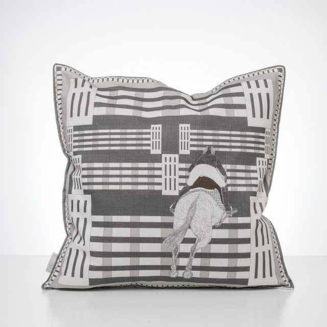 Tripple Bar Pillow Grey