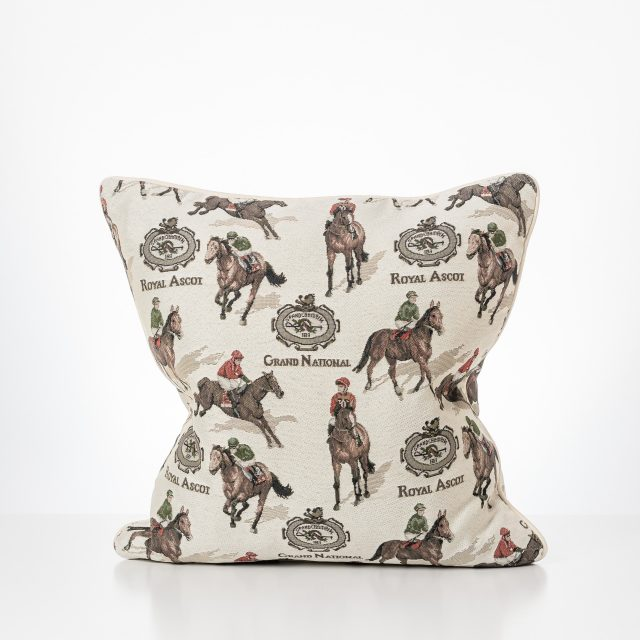 Royal Ascot Cushion