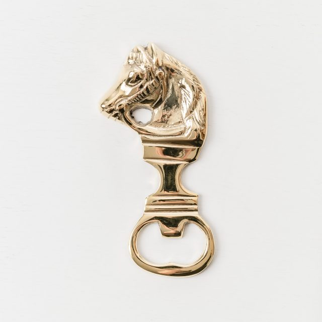Bottle Opener Horse Brass Small