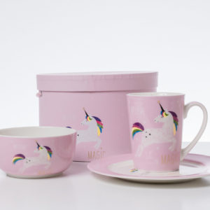Unicorn Breakfast Set