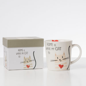 Coffe Mug Home is where my Cat is
