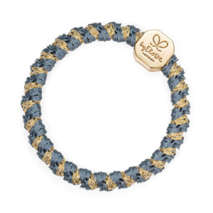 Gold Nugget Woven Azure